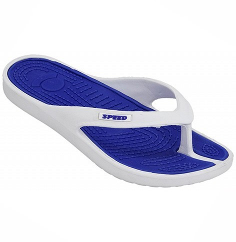slipper 20992 white-blue